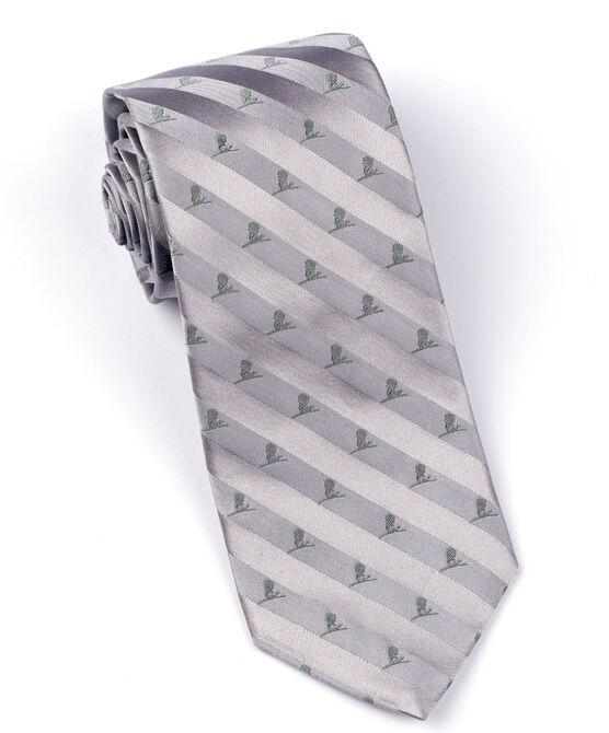 Brooks Brothers Tonal St. Jude Tie - Grey