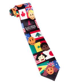 Across the World Neck Tie