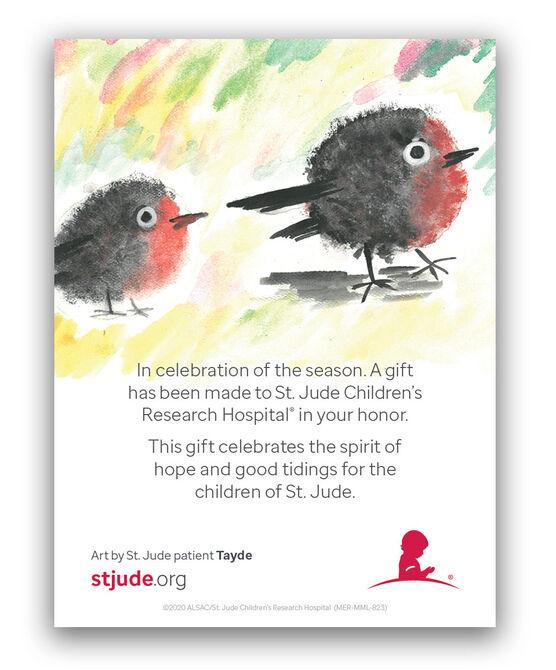 Patient Art Birds Honor Inserts - Set of 5