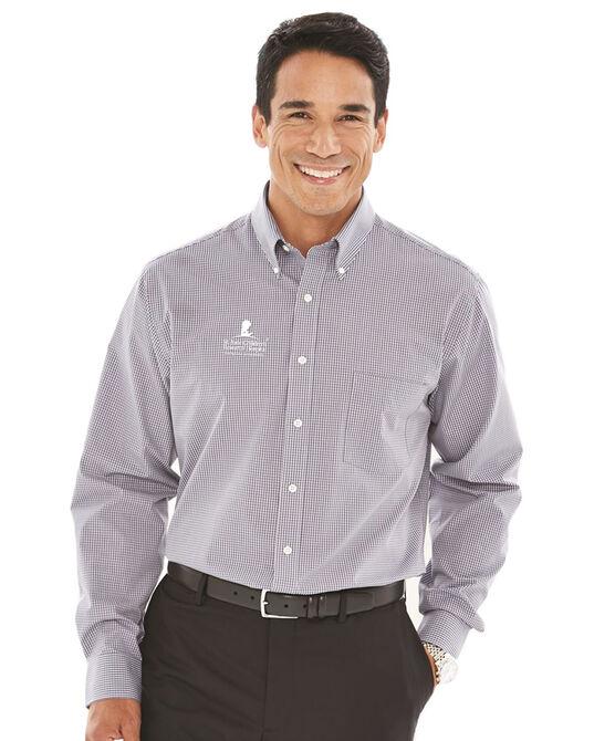 Men's Casual Button-Down Dress Shirt - Grey