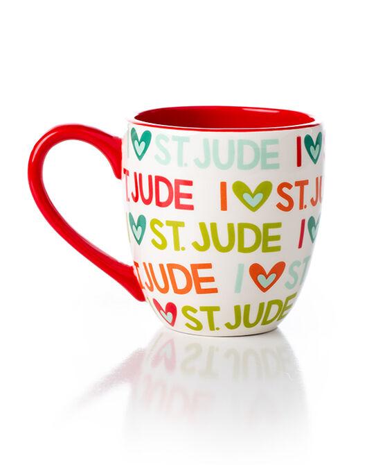 I Love St. Jude Ceramic Mug by Coton Colors