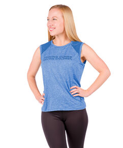 Ladies Mesh Shoulder Performance Tee