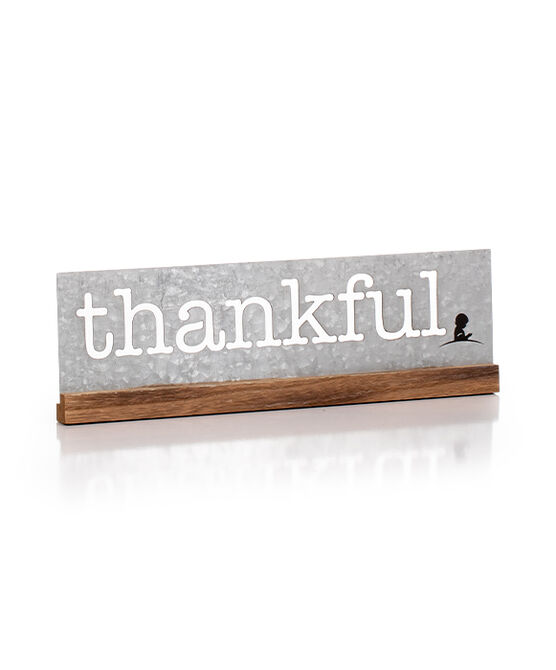 Thankful Tabletop Sign