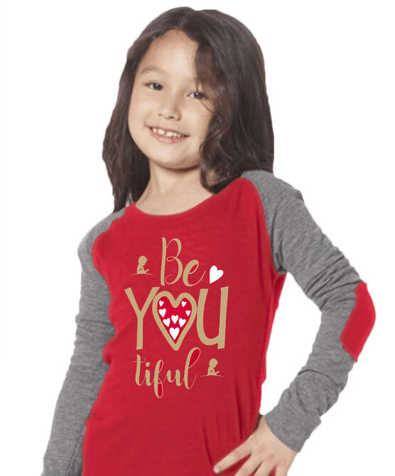 Youth BeYOUtiful Elbow Patch T-Shirt