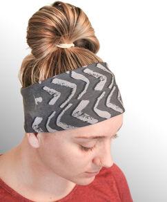 Abstract Arrow Microfiber Headband