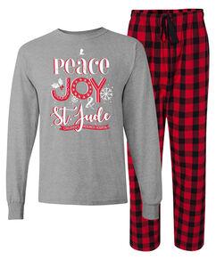 Peace Joy St. Jude Adult Pajama Set