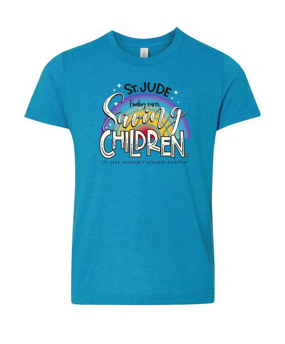 Youth Rainbow Sparkle T-Shirt