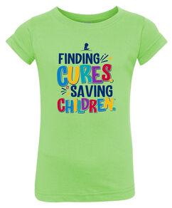 Toddler Finding Cures Saving Children T-Shirt