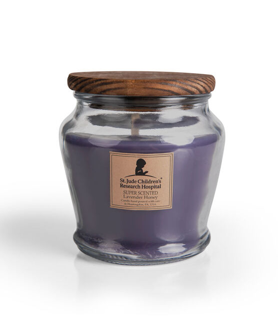 Wooden Wick Lavender Honey Jar Candle
