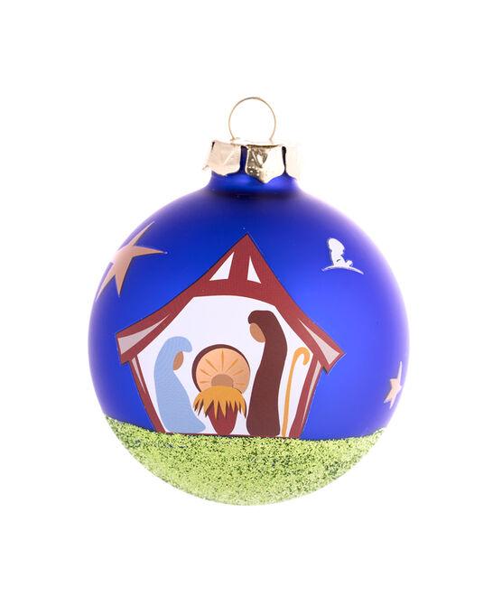 "Nativity Scene 3"" Ornament"