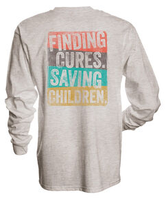 Finding Cures Saving Children Long Sleeved T-Shirt