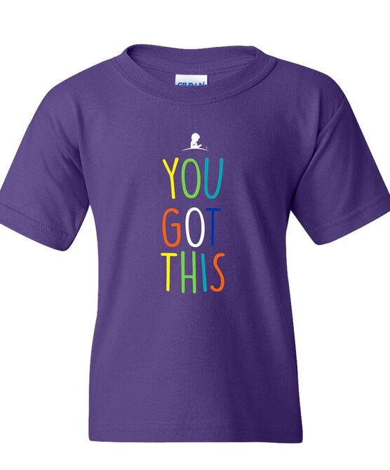 Kids You Got This Purple TShirt