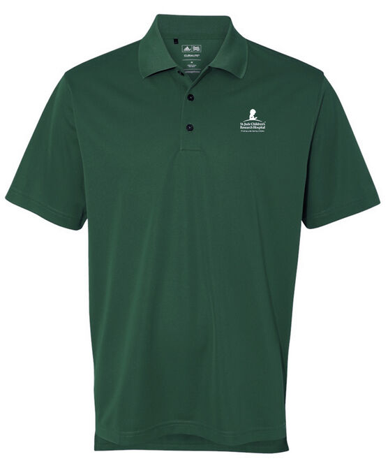 Adidas® Forest Green Polo