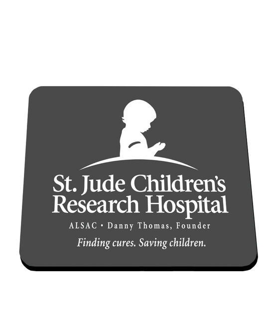 St. Jude Logo Grey Mouse Pad