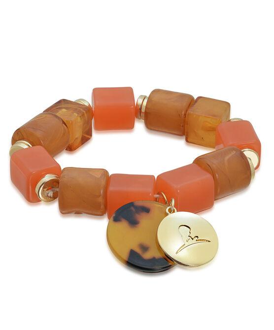Chunky Bead Stretch Bracelet
