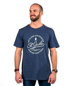 Let's End Cancer Circle Script T-Shirt