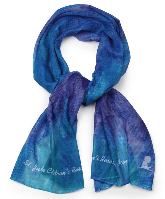 Patient Art Inspired Watercolor Scarf