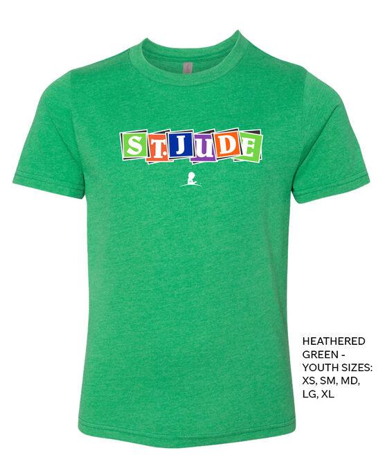 Kids St. Jude Blocks T-Shirt