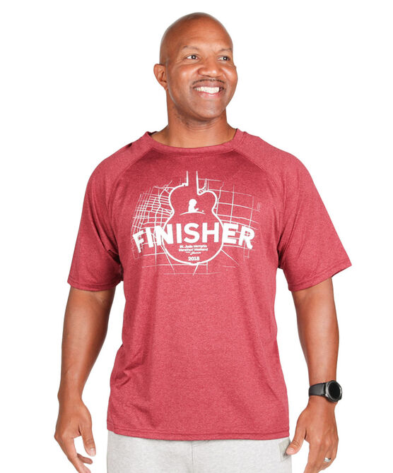 2018 Men's St. Jude Marathon Finisher Shirt