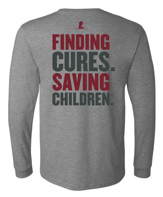 Unisex Finding Cures Saving Children Back Design T-shirt