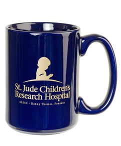 St. Jude Ceramic Coffee Mug - Navy