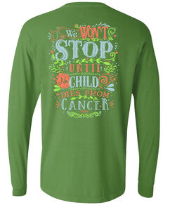 Floral We Wont Stop Long Sleeve Shirt