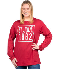 Unisex Red 1962 Square T-shirt