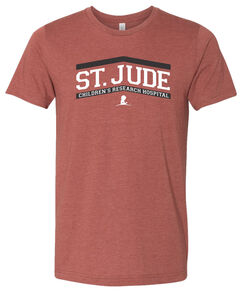 St. Jude Upward Arrow Design T-Shirt