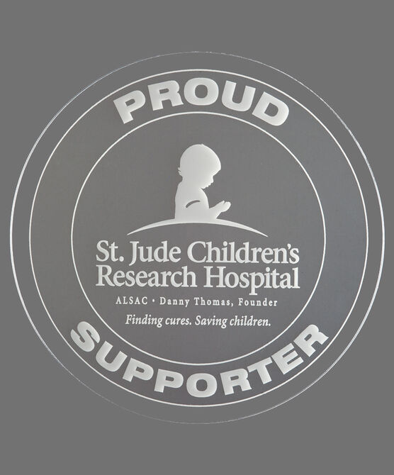 Proud Supporter Window Cling