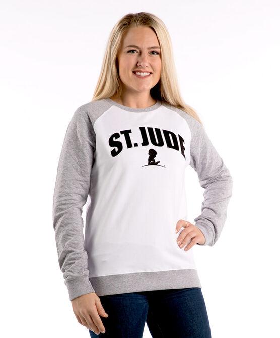 Ladies' Pinstriped Sweatshirt