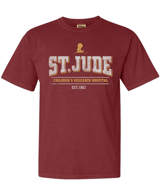Unisex St. Jude Brick Design T Shirt