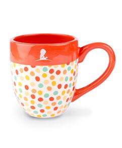 Classic Polka Dot Ceramic Mug