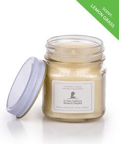 Lemon Grass Scented 8oz. Mason Jar Candle
