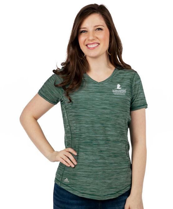 Women's Green Adidas Performance Shirt