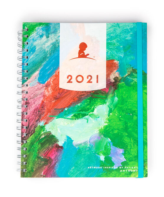2021 St. Jude Patient Art 18-Month Planner