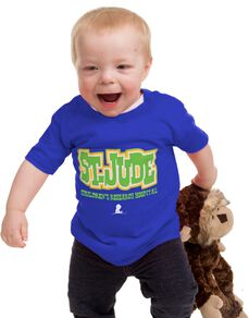 Kids' St. Jude Blue T-Shirt