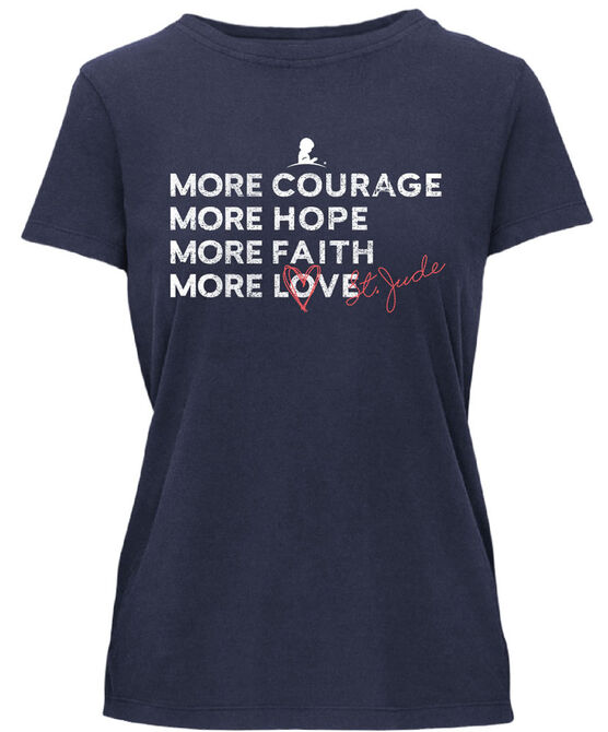 More Courage More Hope Women's T-Shirt