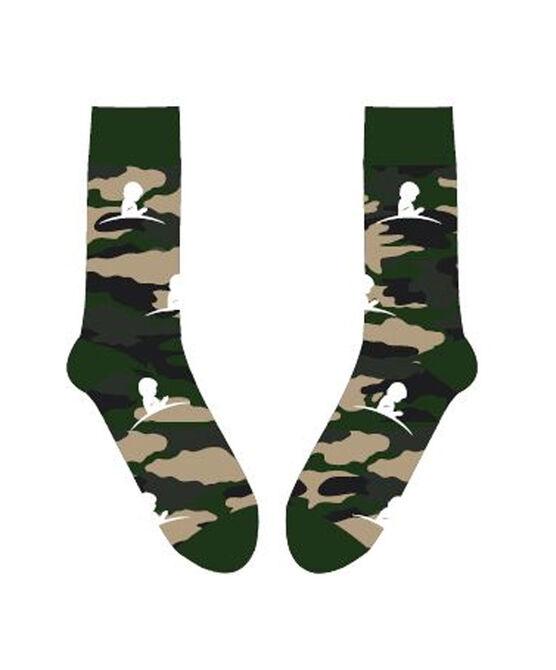 St. Jude Camo Pattern Socks