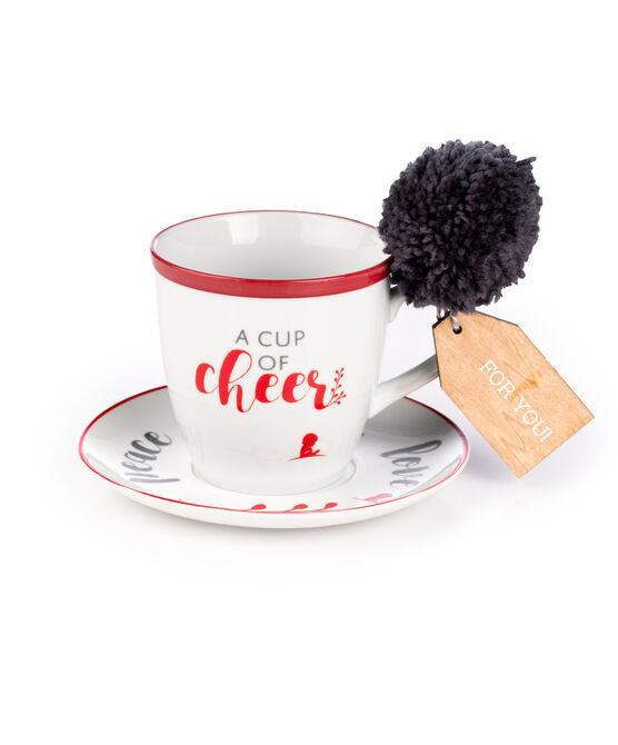 Inspirational Mug & Saucer Set