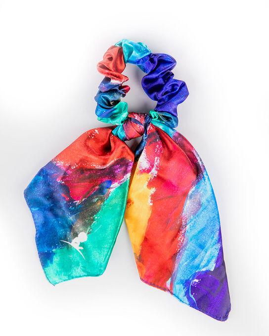Patient Art Inspired Scarf Scrunchie