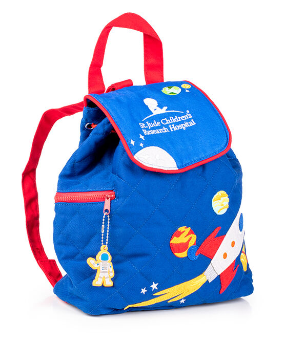 Quilted Space Rocket Backpack