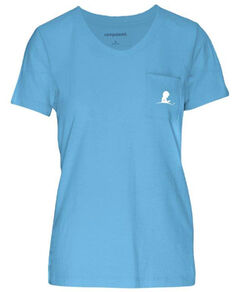 Women's U-Neck Pocket T-Shirt