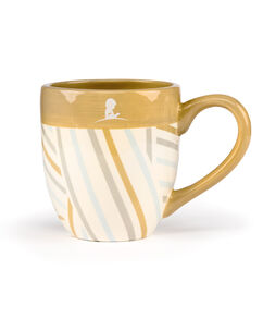 Modern Stripe Pattern Ceramic Mug