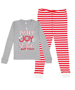 Peace Joy St. Jude Kids' Pajama Set