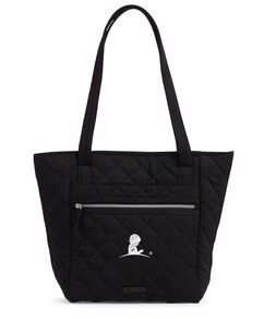 Vera Bradley® Quilted Small Black Tote Bag