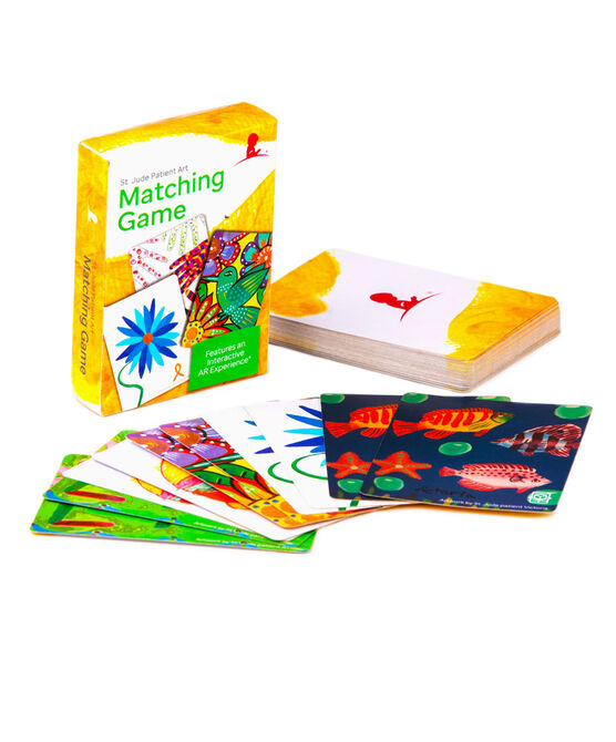 St. Jude Patient Art Matching Card Game