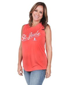 St. Jude Floral Relaxed-Fit Tank