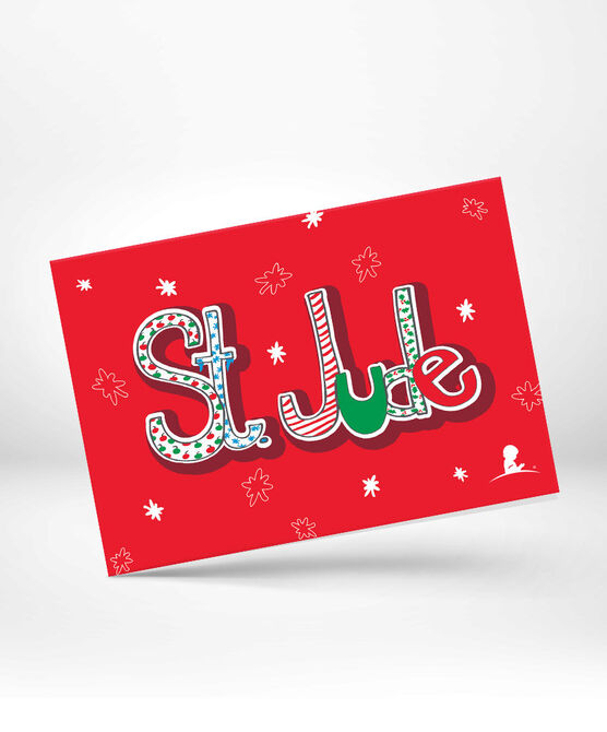 St. Jude Fun Holiday Greeting Card 10 Pack