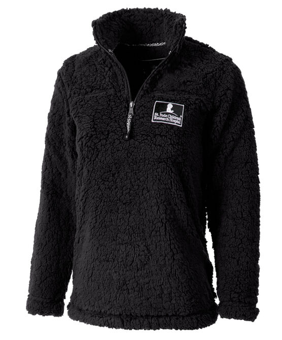 Quarter Zip Sherpa Pullover