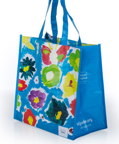 Patient Art Flowers Reusable Bag
